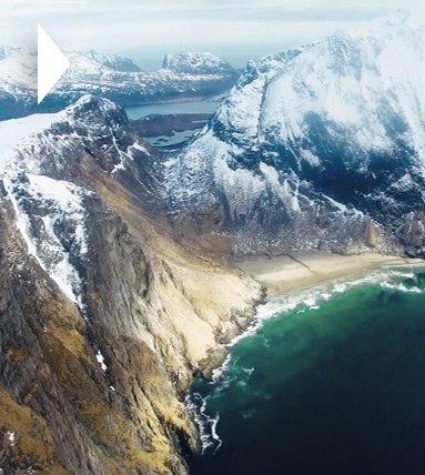 Впечатляющие пейзажи Норвегии