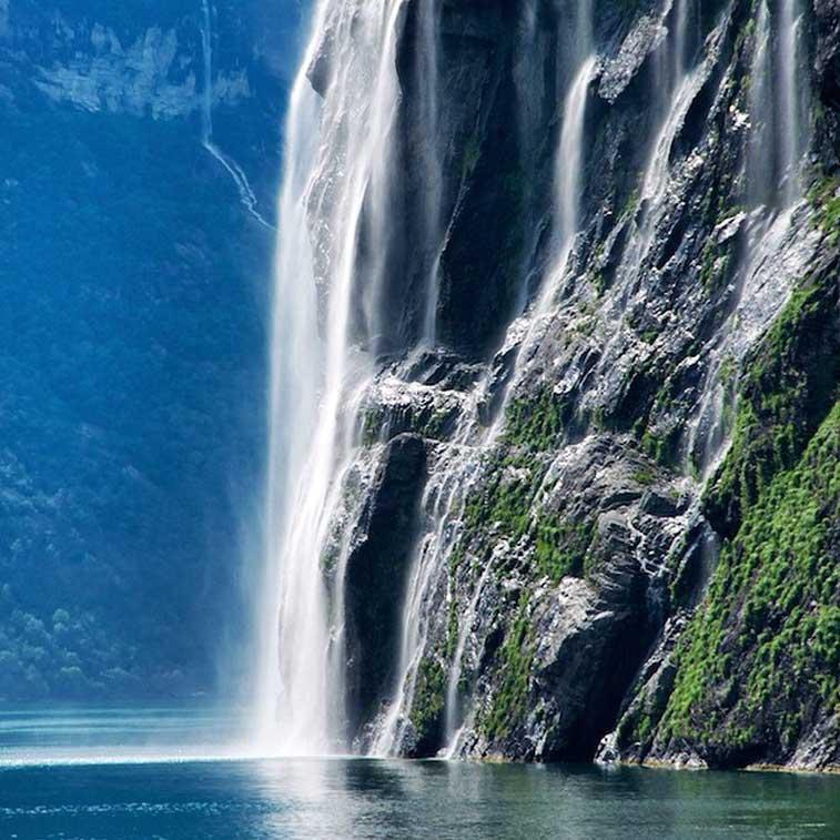 Водопады Гейрангерфьорда - блоги о Норвегии