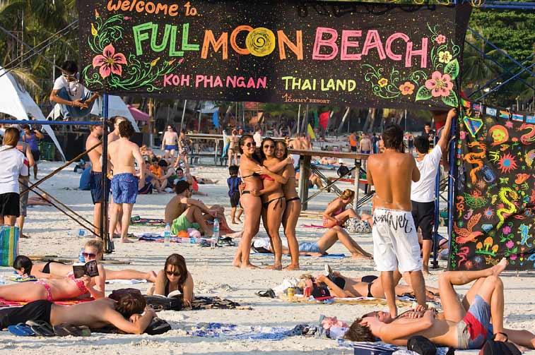 Хаад Рин и вечеринка Полной луны на Пангане