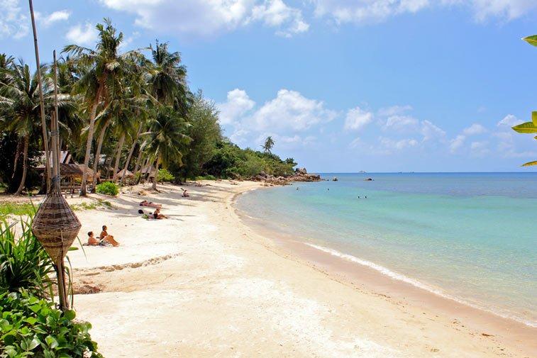 Пляж Хаад Сон на острове Панган