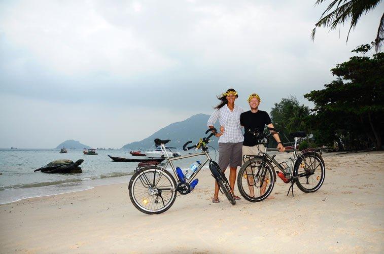 Дороги, транспорт на острове Панган