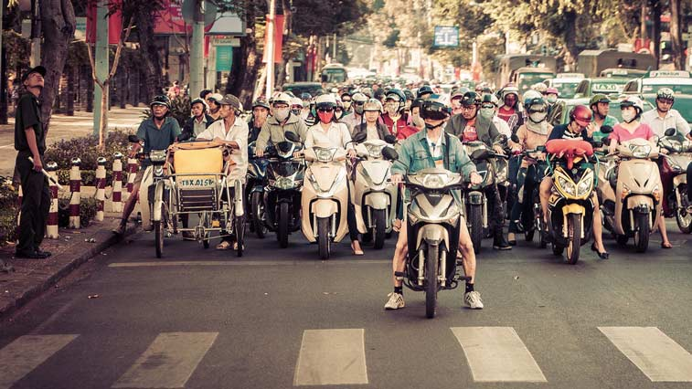 Cайгон – 40 фотографий