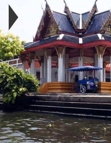 Бангкок со стороны реки