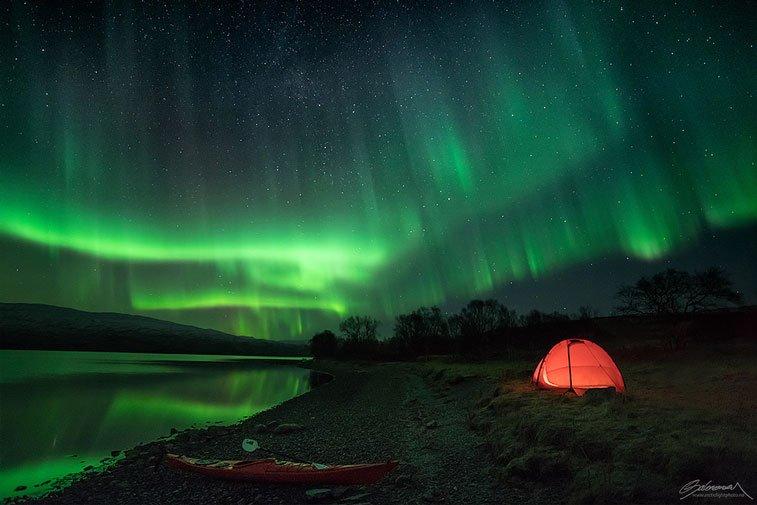 Северное сияние в Норвегии - блоги о путешествиях