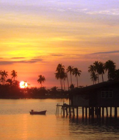 Закат в бухте Банг Бао - блоги о путешествиях