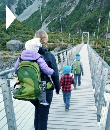 Южный остров Новой Зеландии - приключения с семьёй