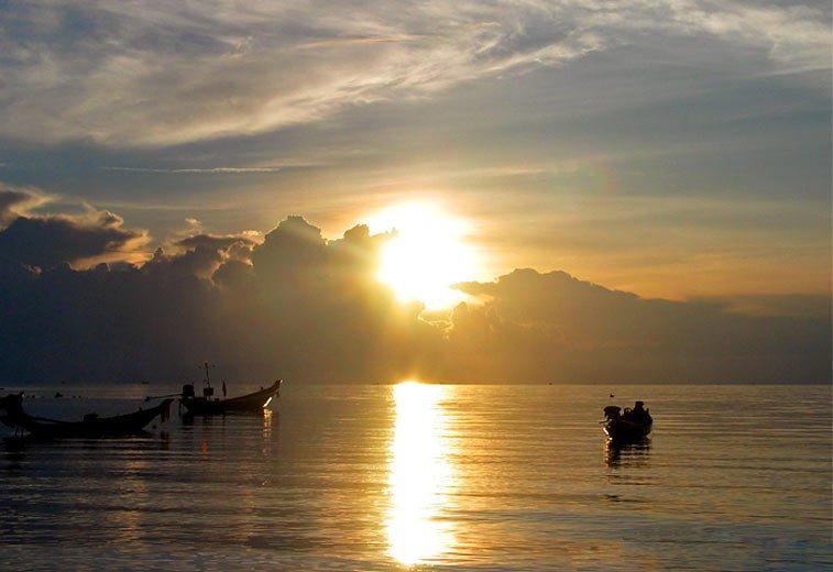 Закаты на Ко Пангане - блоги о путешествиях