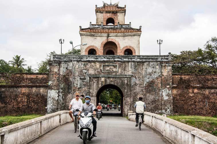 Императорский город в Хюэ