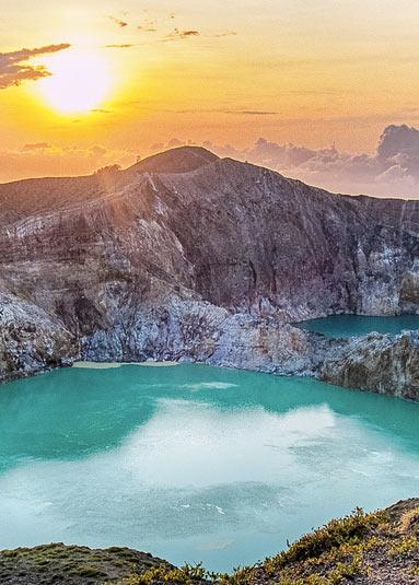 Вулкан Келимуту - блоги