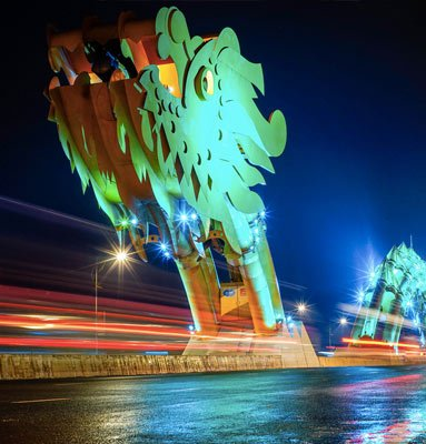 Мост Дракона - новый символ Дананга