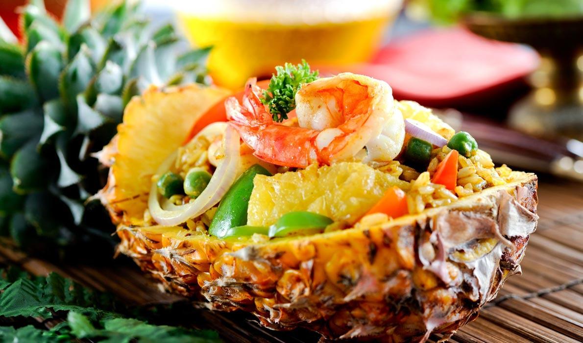 Pineapple Fried Rice - чудеса тайской кухни