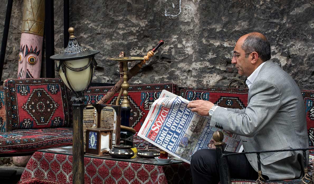 Курение кальяна в Турции, турецкие кальян-кафе