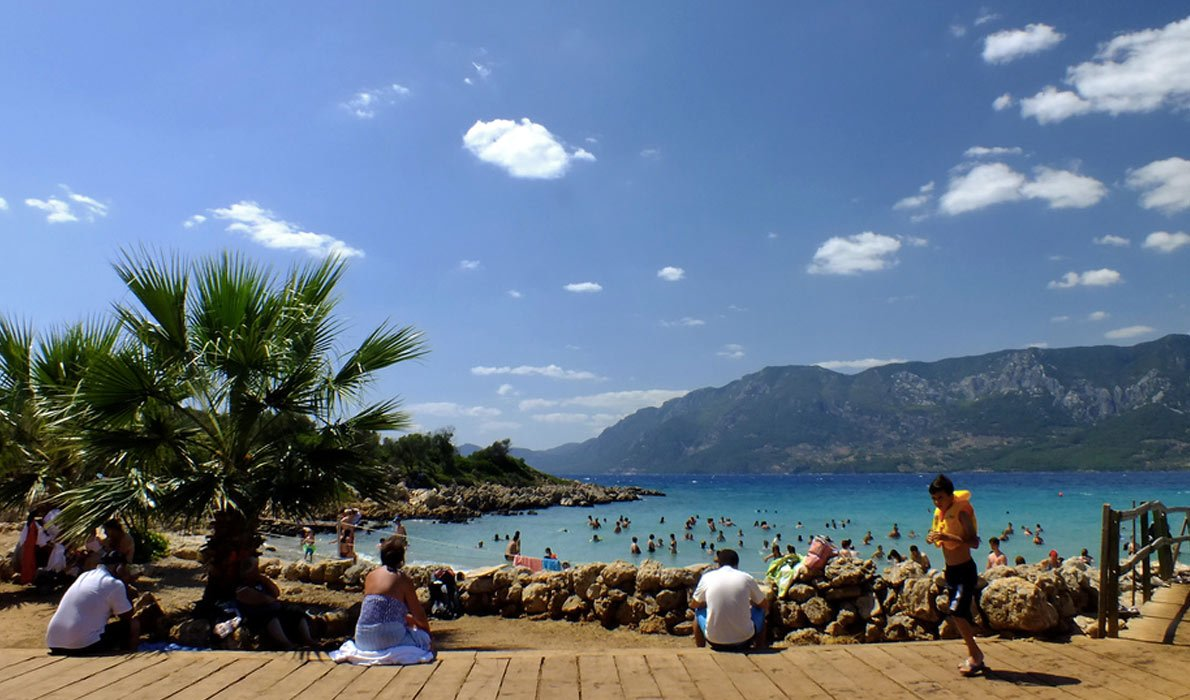 Пляж на острове Клеопатры (Sedir Island). Photo credit: Lloyd Hunt, Flick