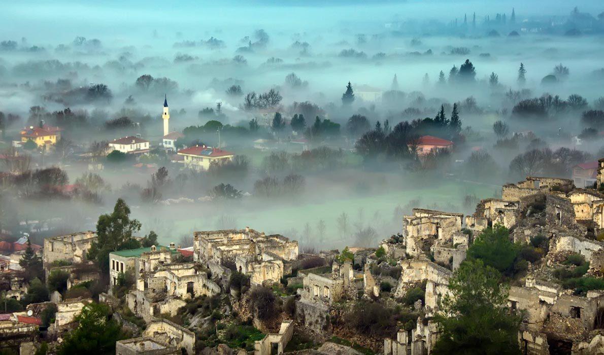 Заброшенная деревня Каякой