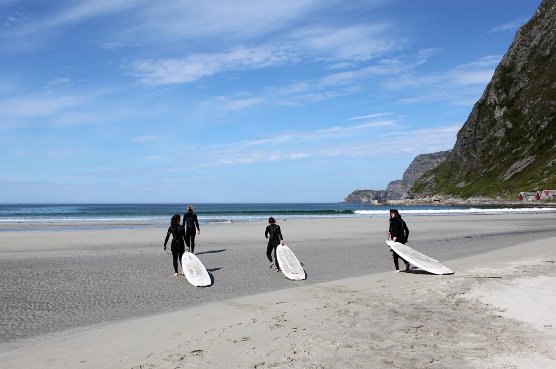 Серфинг в Ходдевик