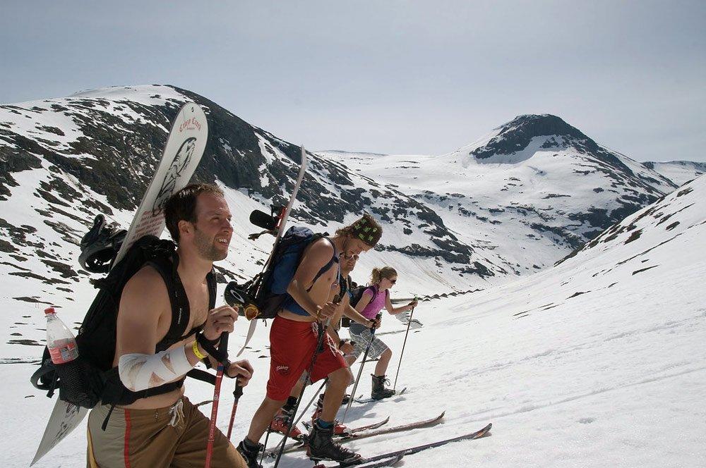 Летний лыжный центр Стрин