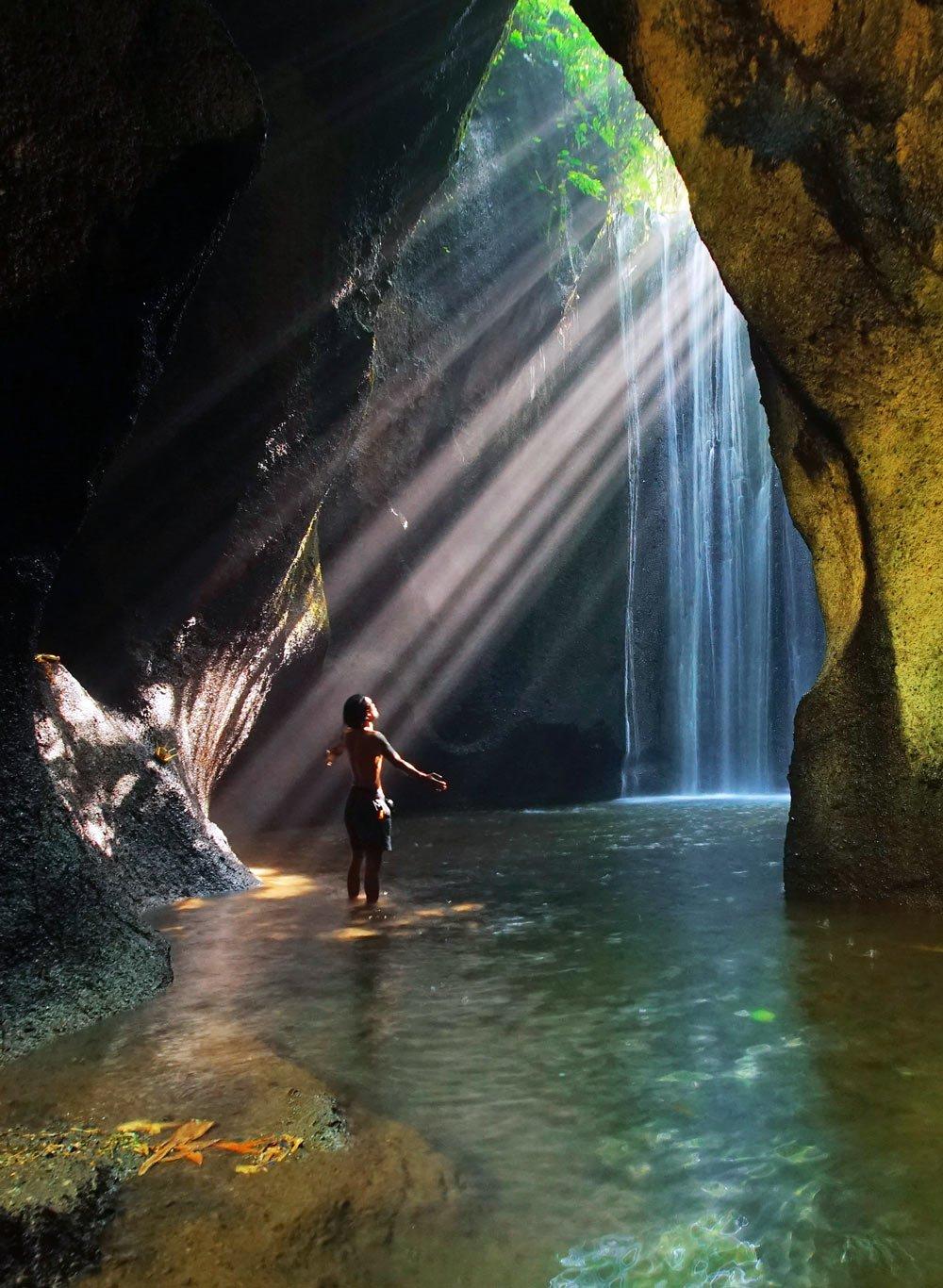 Водопад Тукад Сепунг