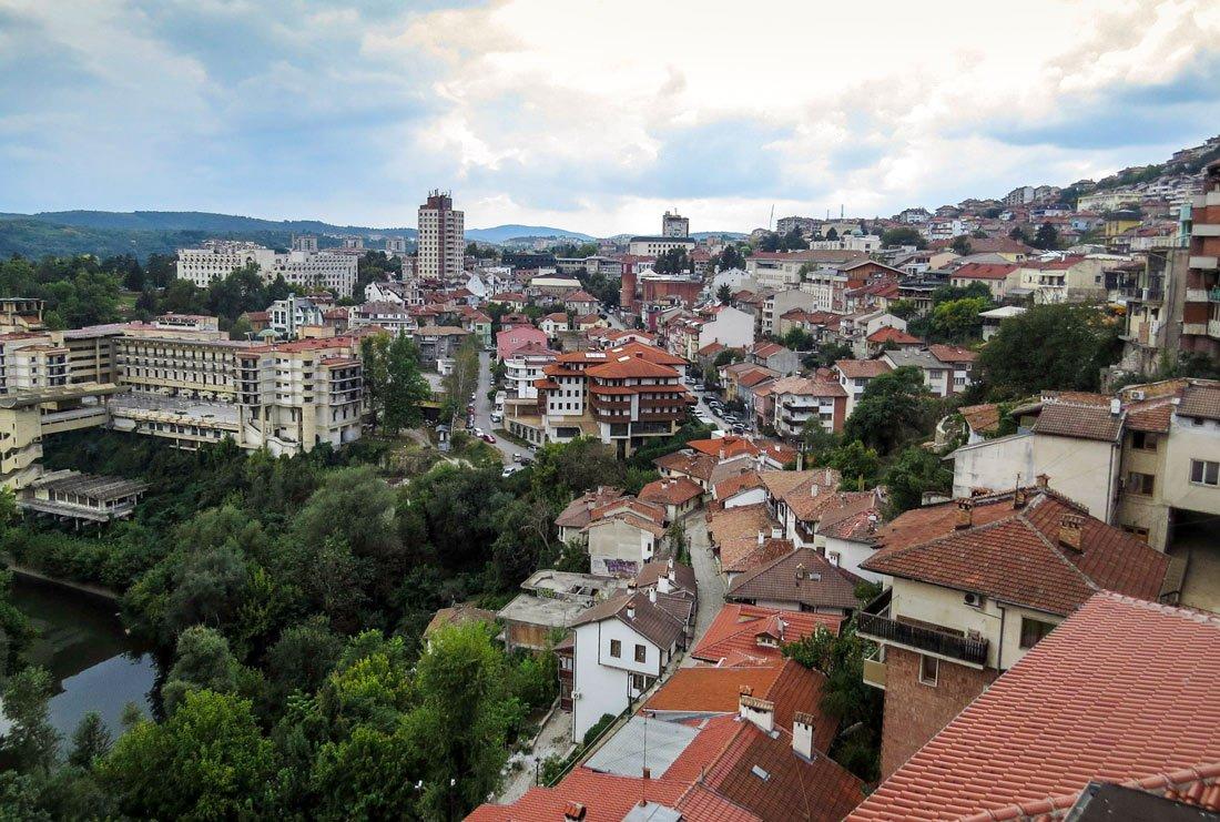 Велико Тырново - В доме на колесах по Болгарии