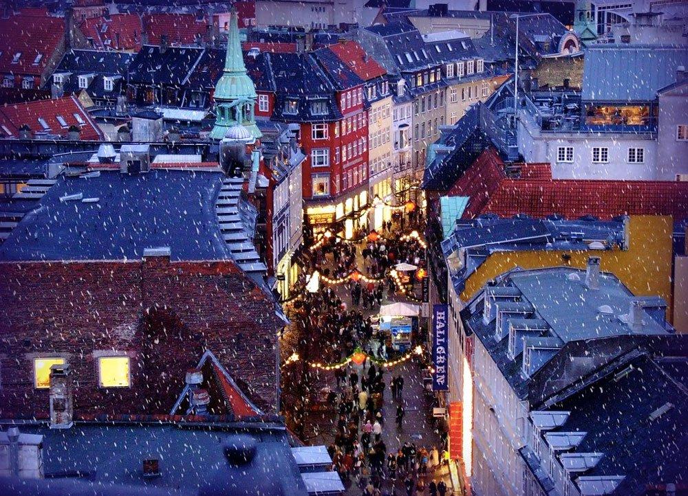 Копенгаген зимой