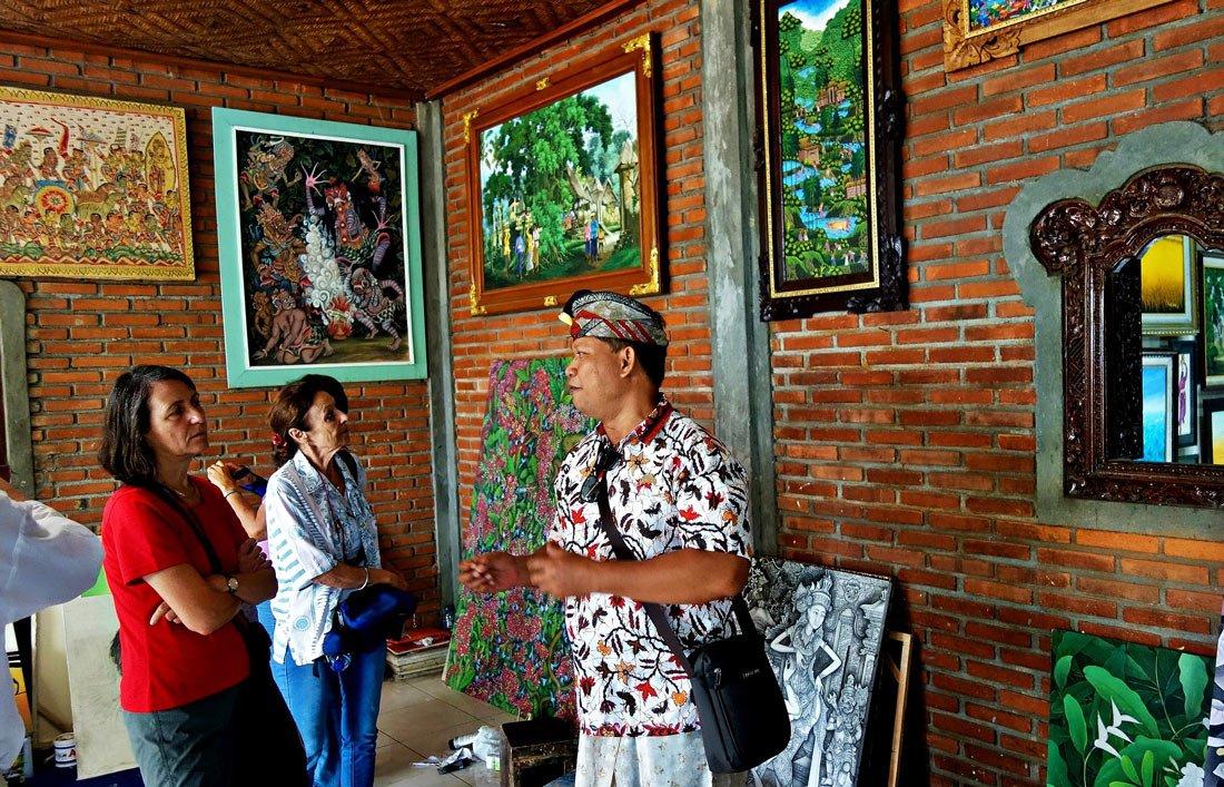 Арт-галерея в Убуде
