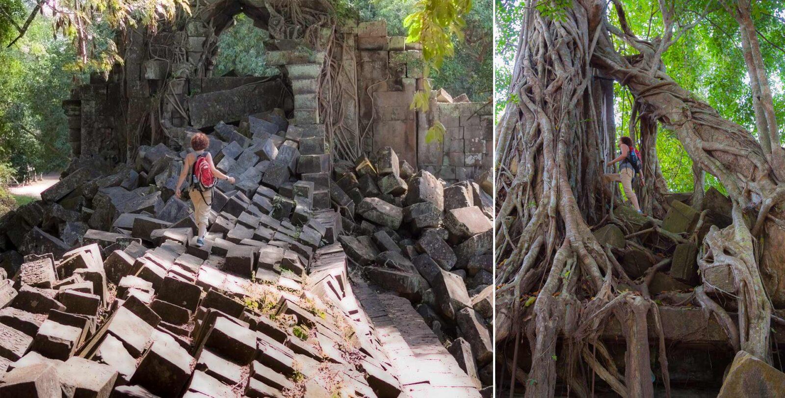 Храм Beng Mealea