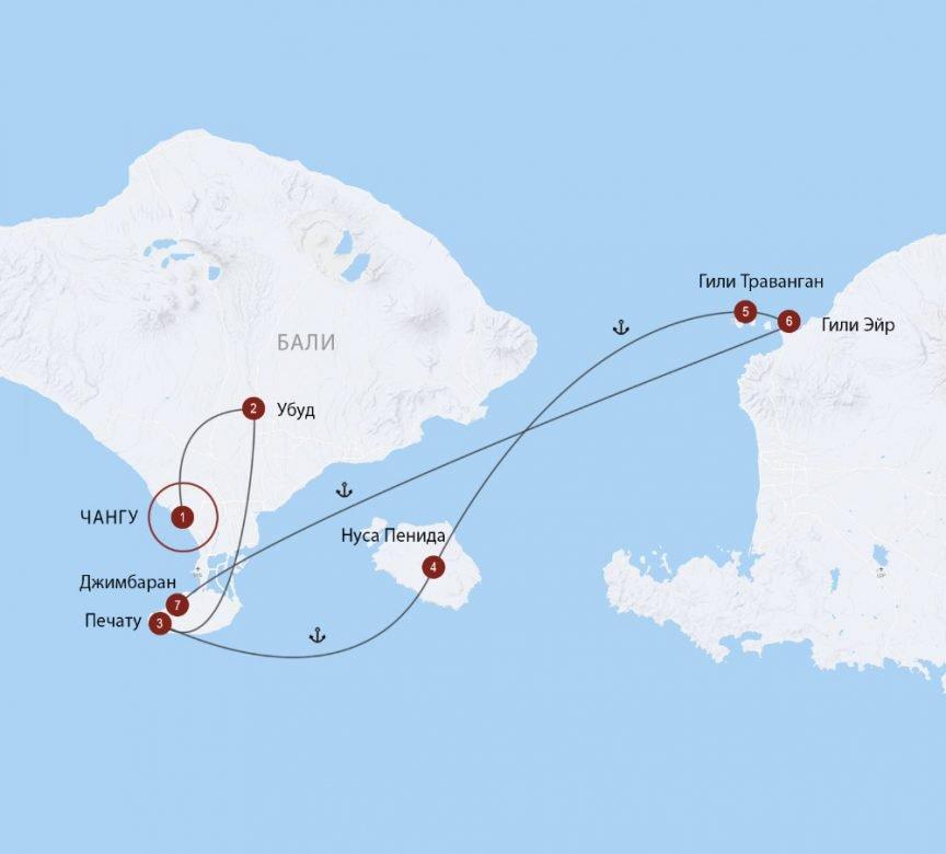С острова на остров: Бали, Нуса Пенида и острова Гили