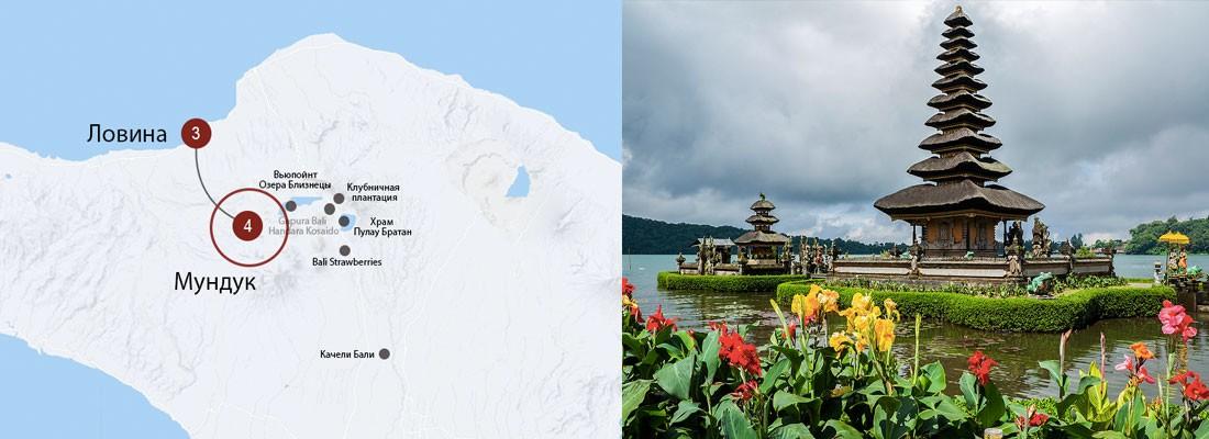 Автомаршрут или мото-маршрут по центру Бали